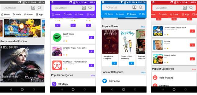 AC Market - Download Modded Versions of Android Apps With